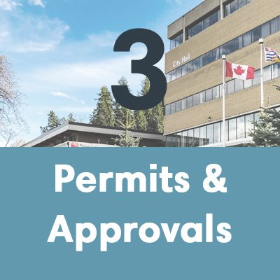 A house builder will get permits and approvals