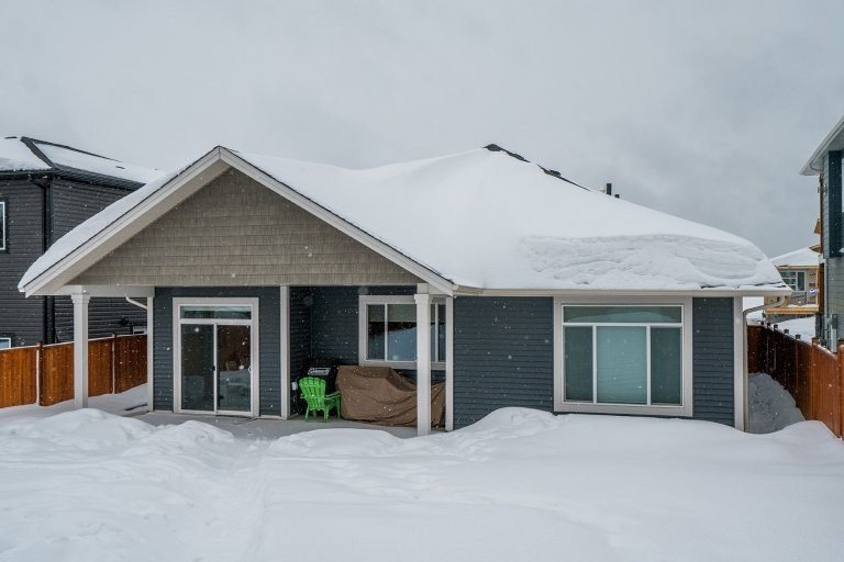 The bungalow is a popular style of new homes in Prince George